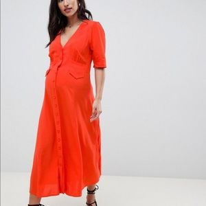 ASOS Design Maternity Midi Dress